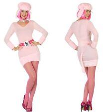 Déguisement Femme Caniche Rose M/L 40/42 Costume Adulte Animal Chien Humour