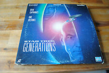 Film Laserdisc LD STAR TREK GENERATIONS version FR PAL
