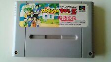 DragonBall Z  Nintendo Japan SNES Super Famicom Japanese Used