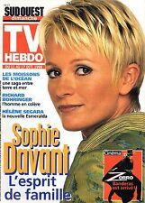 TV HEBDO 1998: SOPHIE DAVANT_ANTONIO BANDERAS_HELENE SEGARA_ANNIE CORDY