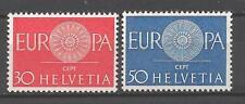 EUROPA 1960 Suisse - Switzerland neuf ** 1er choix