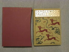 Tanglewood Tales by Nathanial Hawthorne Folio Society 2002 with Slipcover EUC