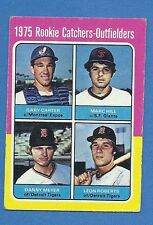 Topps Baseball Card 1975 mini # 620 Expos Gary Carter Rookie HOF Ex