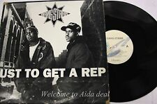 Gang-starr Just To get a Rep Lp (G) 12""