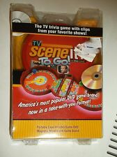 NEW SCENE IT? THE DVD GAME TV TRIVIA GAME PORTABLE CASE MOVIES TV DVD
