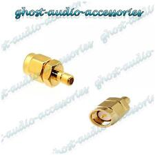 Car Radio Stereo DAB SMA to SMB Aerial Antenna Connector Adaptor