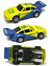 1993 Marchon MR-1 Racing HO Slot Car BP PORSCHE TURBO RSR Yel/Blue Neon Unused !