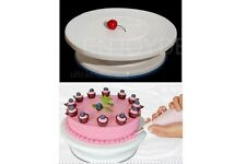 Turning Table for Decorating Cakes Revolving Cake Stand + An Anti-Slip Ring Fine