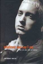 EMINEM BOOK WHATEVER YOU SAY I AM RARE HARDBACK