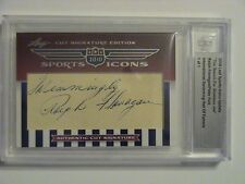 2010 Leaf Icons Swimmer Peter Fick Finnegan Auto 1/1