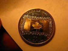CANADA 2015 25 CENT COIN PLAIN VARIETY COMMEMORATING 50 YRS OF CANADIAN FLAG