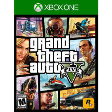 Grand Theft Auto V Xbox One 1 GTA FIVE 5 Brand New Factory Sealed