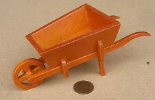 Échelle 1:12 grande roue en bois brouette maison de poupées miniature jardin accessoire sa