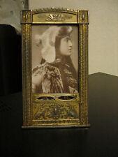 Lovely RARO, ORIGINALE ART NOUVEAU, Arts & Crafts cornice foto francese