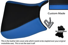LIGHT BLUE & BLACK CUSTOM FITS SUZUKI GSF 650 BANDIT 05-11 FRONT SEAT COVER