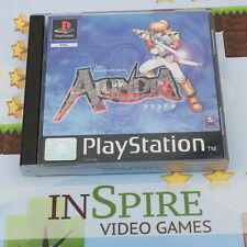 ALUNDRA - THE ADVENTURES OF - SONY PLAYSTATION PSONE PS1 GAME - MINT