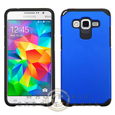 Samsung Grand Prime Advanced Armor Case - Dark Blue/Black Protector Guard Shield