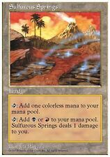 Sorgenti Sulfuree - Sulfurous Springs MTG MAGIC 5E English