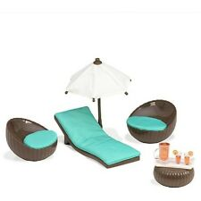 ~ROOFTOP PATIO Furniture SET~LORI Our Generation-for mini AG dolls