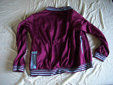 Team Lazio Mens Official Soccer Jacket Macron Marked Size M USA Size L EU Maroon