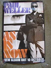 Paul Weller - As Is Now - PROMO POSTER