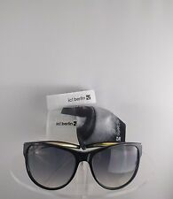 Brand New Authentic ic! Berlin Sunglasses Kate M. Black Gold Frame Germany