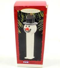 Hallmark Keepsake PEZ Snowman Ornament