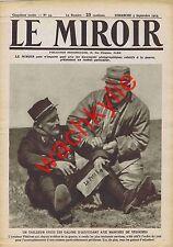 Le miroir n°93 du 05/09/1915 Védrines ruines d'Arras Ursulines Dardanelles