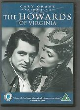 THE HOWARDS OF VIRGINIA - Cary Grant - UK REGION 2 DVD - RARE OOP - vgc