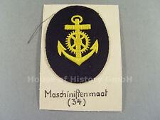 T&S: Kriegsmarine: Armabzeichen für Maschinistenmaat / Maschinenmaat, 57316