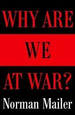 VG÷BOOK*PULITZER PRIZE -WINNING AUTHOR:NORMAN MAILER WHY ARE WE AT WAR?  POLITIC