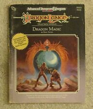 dungeons & dragons  dragonlance  Dragon Magic  dle2   book  vg exc