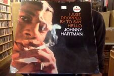 Johnny Hartman I Just Dropped by to Say Hello LP sealed vinyl RE reissue