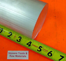 "5"" ALUMINUM 6061 ROUND ROD 4.1"" LONG T6511 5.00"" OD Solid Lathe Bar Stock"