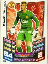 Match Attax 2012/13 Premier League - #129 David De Gea - Manchester United