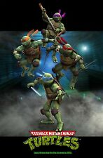 "Teenage Mutant Ninja Turtles 2014 Movie Fabric poster 20"" x 13"" Decor 38"
