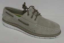 SPERRY TOP SIDER BILLFISH ULTRALITE STONE MEN'S LEATHER BOAT SHOES SIZE 10M NEW