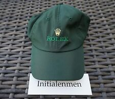 ROLEX green CAP BASELWORLD HAT / BRAND NEW 100% authentic BASEBALL rare GOLF