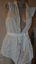 magnifique veste sans manche femme beige HIGH USE taille 38 neuf avec étiquettes