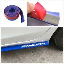 New Blue 2.5M Car Front Bumper Lip Splitter Spoiler Chin Pad Protection Sticker