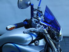 Für Yamaha Vmax Windschild Street in Blau,  Windschutz, Windscreen for Vmax blue