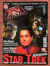 TV ZONE MAGAZINE 89 - RED DWARF - STAR TREK - JARED MARTIN