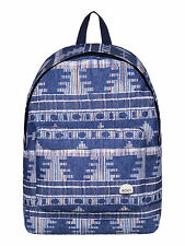 ROXY LARGE WOMENS/GIRLS BE YOUNG BLUE RUCKSACK/BACKPACK BAG.SCHOOL 6W/266/BSQ7