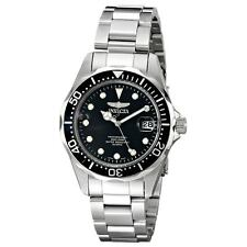 Invicta 17046 Gent's Black Dial Steel Bracelet Quartz Dive Watch
