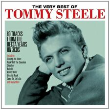 Tommy Steele VERY BEST OF 80 Songs From Decca Years ESSENTIAL ULTIMATE New 3 CD