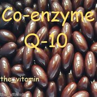 "Co-enzyme Q-10 (30mg) 120 capsules  One per day  ""FREE POSTAGE""    (L)"