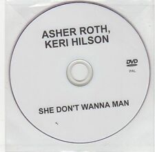 (EG487) Asher Roth & Keri Hilson, She Don't Wanna Man - DJ DVD