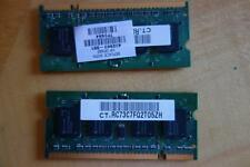 TOSHIBA SATELLITE P100 LAPTOP MEMORY (2x -512MB) 512MB 2Rx16 PC2-5300S-555-12-A0