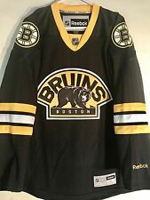 Reebok Premier NHL Jersey Boston Bruins Team Black Alt sz M