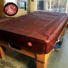 SPARTAN Heavy Duty Water Resistant 9ft American Pool Table Cover - 9FT BURGUNDY